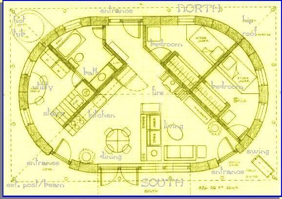 Roundstrawbalehouse Straw Bale House Cob House Plans House Plans