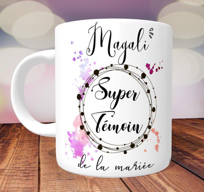 tasse Témoin PersonnaliséPersonnalisé Cadeau Mug Super xdCBtshQro