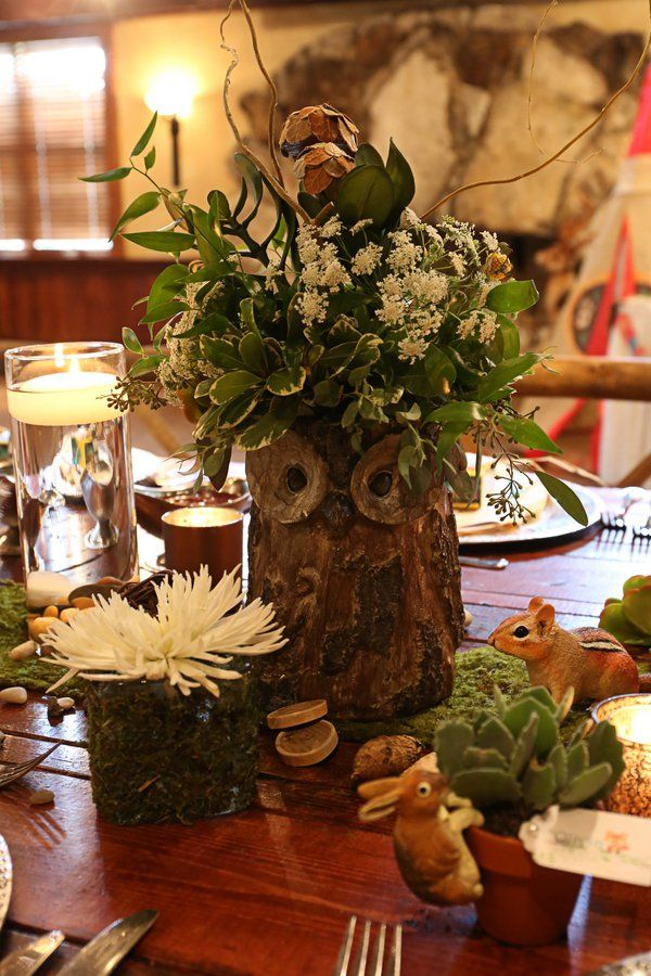 The Elaborate Details in This Woodland Baby Shower Will