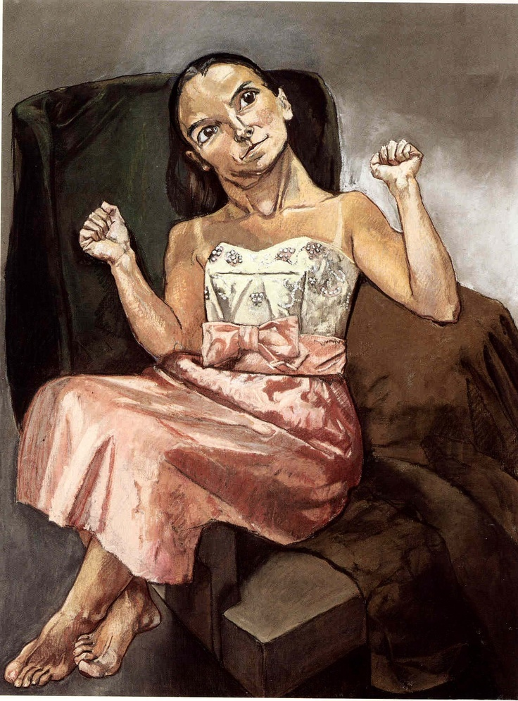 Paula Rego. Moth, 1994. Pastel on canvas, 160 x 120 cm.