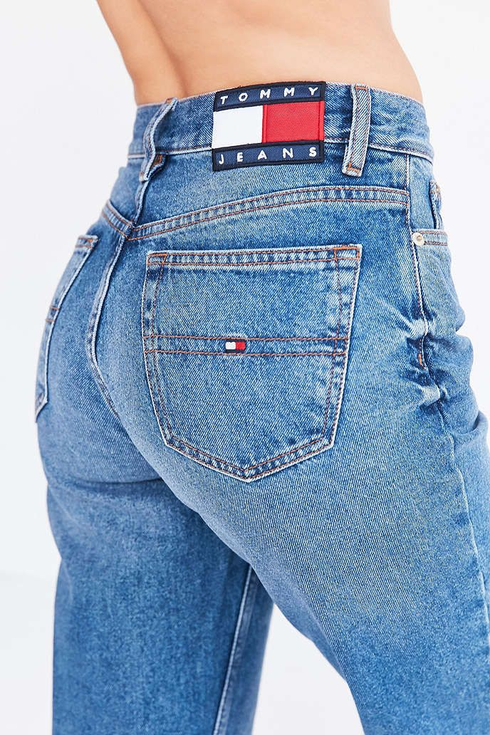 Tommy Jeans For UO 90s Mid-Rise Mom Jean - Urban Outfitters
