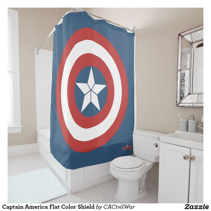 17 best images about tv and movies official merchandises on pinterest marvin the martian - Captain america curtains ...
