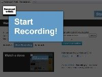 Screencast-O-Matic - Free online screen recorder for instant screen capture video sharing. Can add in image from webcam.  Use for tutorials or student projects.
