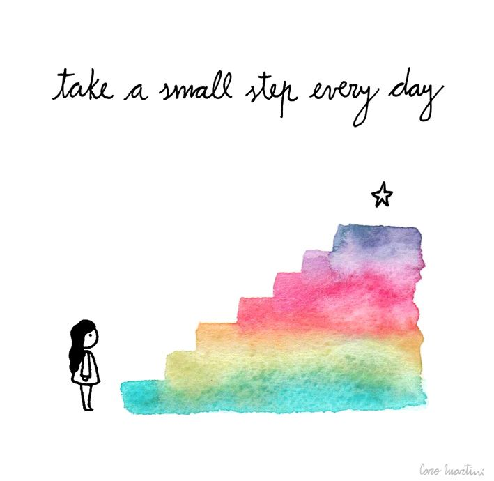 If you delve into this all at once, you're more likely to fail. Start small and work your way up more and more everyday!