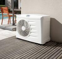 ¿Cómo funcionan las Bombas de Calor para calentar el agua de las piscinas? Información, precios de venta e instalación para la climatización de piscinas.