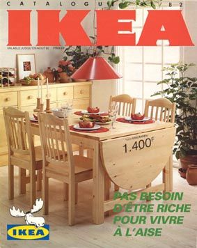 30 bougies pour 30 catalogues ikea catalog vintage. Black Bedroom Furniture Sets. Home Design Ideas
