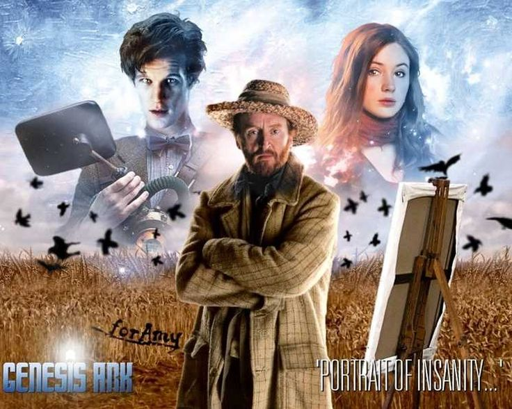 Vincent Van Gogh - ''Portrait of Insanity''  Doctor Who.S05E10 - ''Vincent and the Doctor'' (Doctor Who - BBC Series) source:http://www.sfseriesandmovies.com/series/doctor-who-2005/doctor-who-gallery/