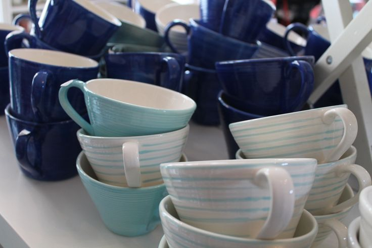 Don't you love those afternoon teas too? Tiina's favourite is a perfectly sized tea strainer which she uses every day. They also have a great selection of ceramic tea cups - in all your favourite colours - at Welmans. www.visitporvoo.fi