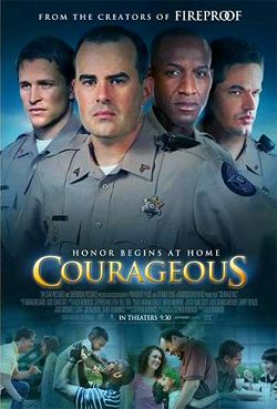 COURAGEOUS: From the creators of FIREPROOF. AMAZING, INSPIRING, movie!!!! If you haven't seen it, I would DEFENITLY suggest you do! :)