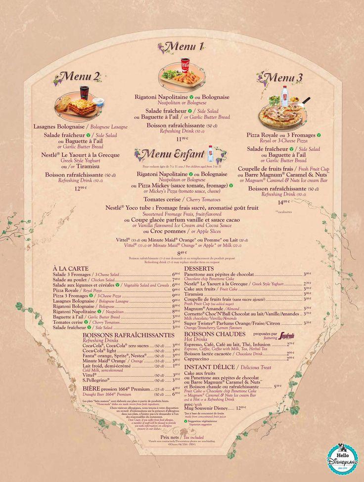 10 best images about disney on pinterest disney for X cuisine miri menu