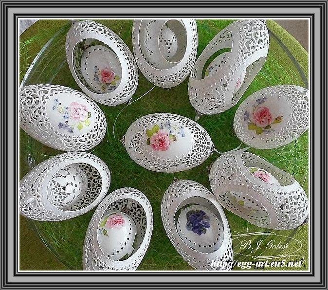 Egg art - Bogusława Justyna Goleń