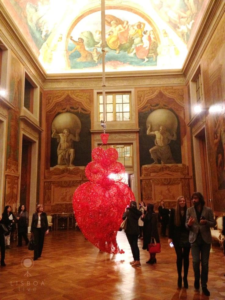Palácio Nacional da Ajuda - Exposição Joana Vasconcelos em Lisboa