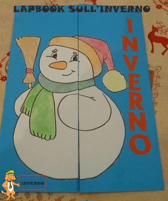A Scuola con Poldo: Un lapbook sull'inverno