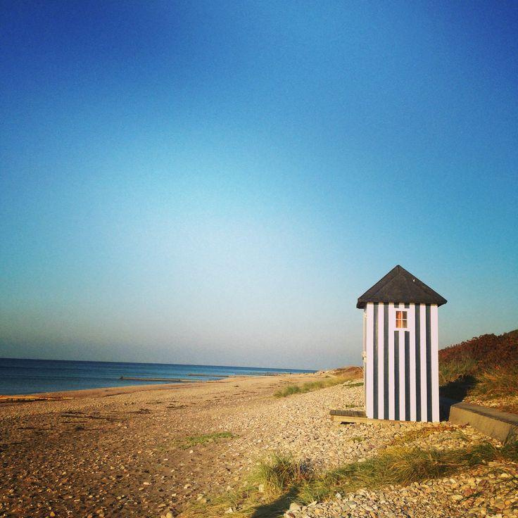 Rågeleje beach by Tina Bardenfleth