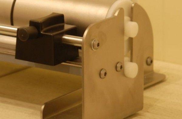 Tagliacarte in Acciaio Inox realizzato da Penta Systems.