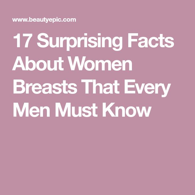 17 Surprising Facts About Women Breasts That Every Men Must Know
