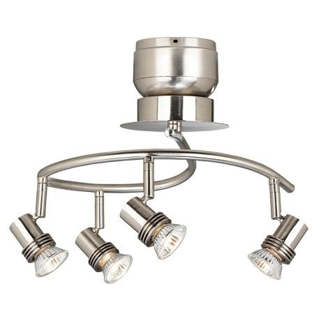 four adjustable head ceiling fan light kit lighting task. Black Bedroom Furniture Sets. Home Design Ideas