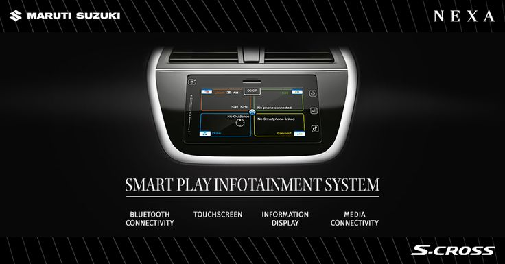 Adding a new dimension in car infotainment. #SCross