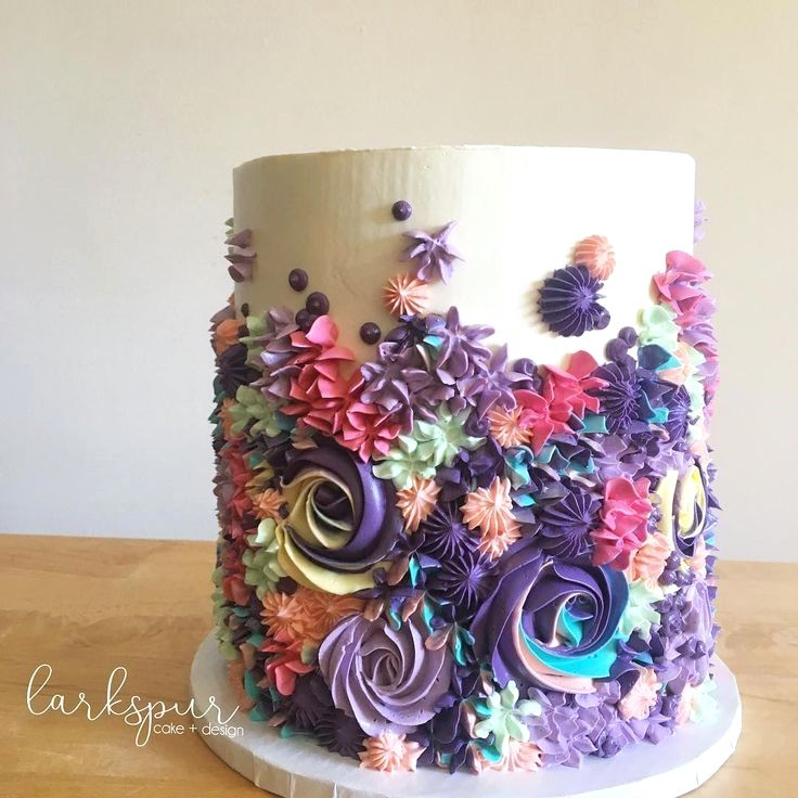 Easy Cake Piping Ideas | Cake piping, Cake decorating ...