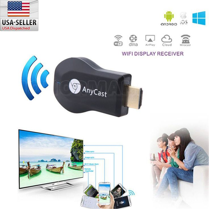 Anycast M2 High Quality MiraScreen TV Stick Dongle WiFi Display Receiver #Anycast