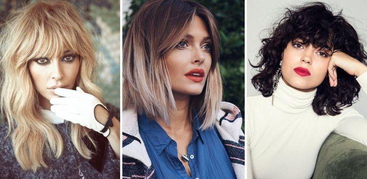 La frangia sarà tra le tendenze must-have della moda capelli estate 2017. Corta, lunga, laterale o a tendina: quale frangetta scegliere...