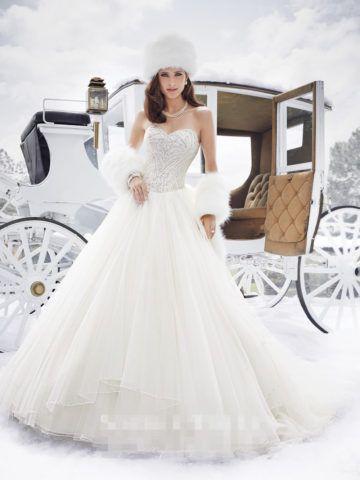 冬ウェディングドレス