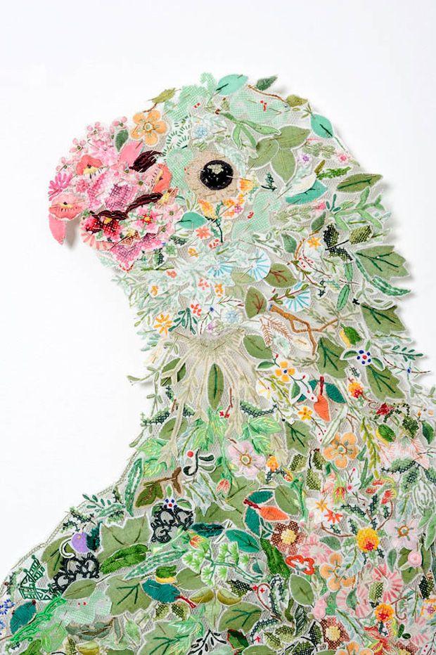 Bird Art (embroidery)