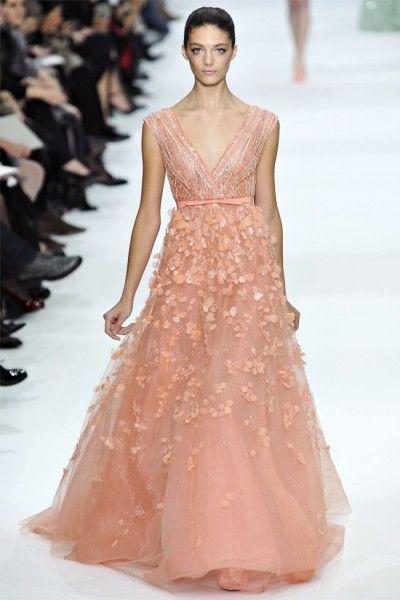 Elie Saab Spring 2012 Couture // model: Katryn Kruger