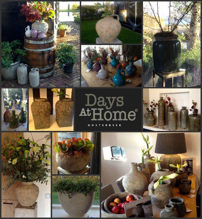 Days At Home is dealer van Brynxz. Wij verkopen zowel de potten, kruiken als de lampen.