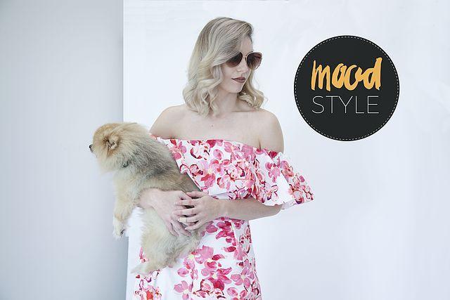 Mood Style: Pretty in Pink Ruffles | Mood Designer Fabrics Sewciety Blog | Bloglovin'