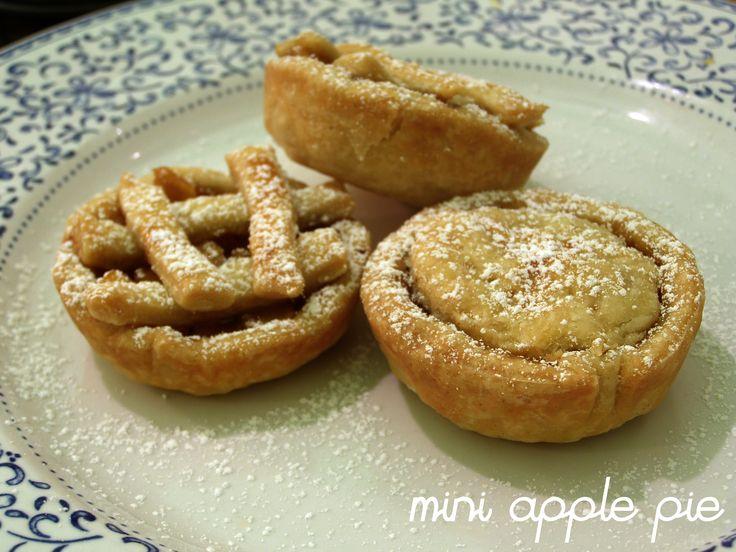 mini apple pie!!