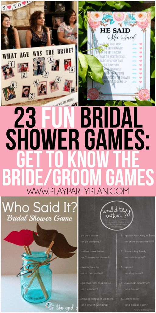 free printable bridal shower games how well do you know the bride%0A    more funny bridal shower games that don u    t suck including everything from  games for