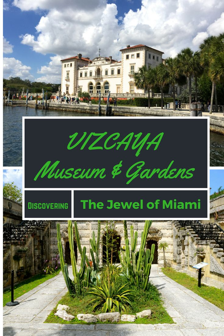 Travel in Miami is more than just the beach! Vizcaya Museum and Gardens in Coconut Grove is an exquisite Italian style villa with beautiful interiors and exteriors. A National Historic Landmark, we loved exploring the historical estate. One of Miami's top but lesser known attractions, Vizcaya is not to be missed.