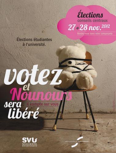élections étudiantes  Université Strasbourg