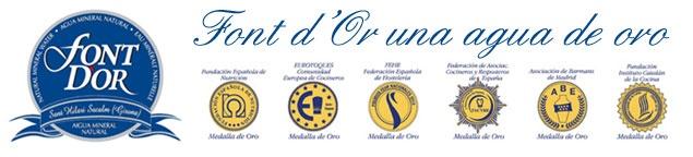 Font D'Or una agua de Oro de Vichy Catalán
