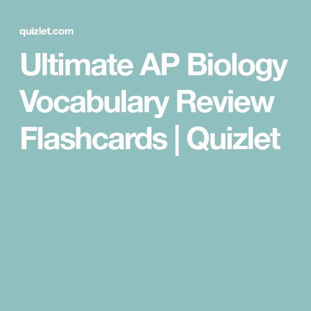 7 best bioinformatics images on pinterest immune system ap ultimate ap biology vocabulary review flashcards quizlet publicscrutiny Choice Image
