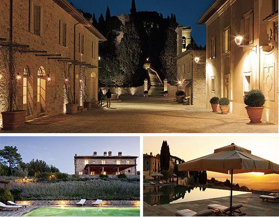 10 Bucket List-Worthy Italian Hotels (pictured is Castiglion del Bosco in Siena)