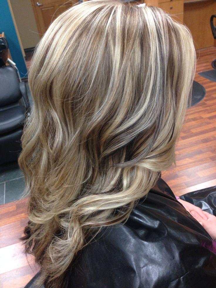 Dimensional Blonde Highlights Hair Pinterest