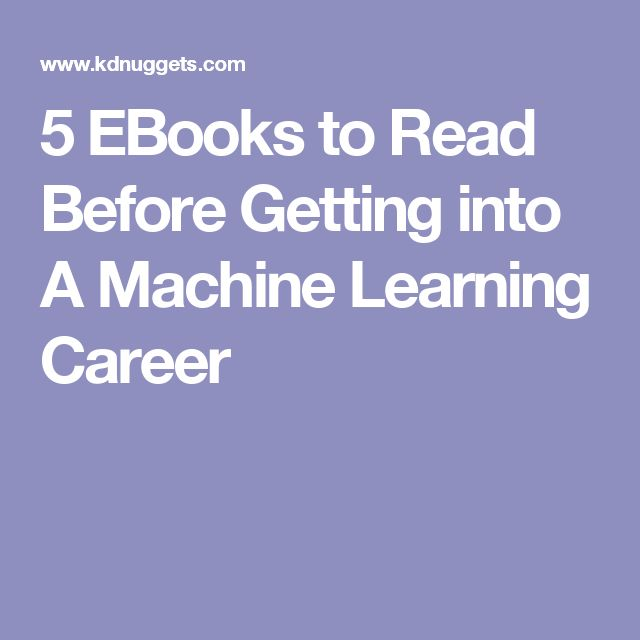 56 best data science images on pinterest artificial intelligence 5 ebooks to read before getting into a data science or big data career fandeluxe Gallery
