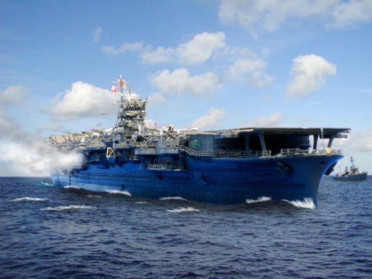 正規空母「翔鶴」(真珠湾攻撃時)(1/700 フジミ)Japanese aircraft carrier SHOKAKU (Tamiya)