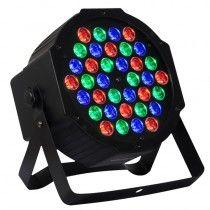 Canhão de 36 LED's - Slim RGB