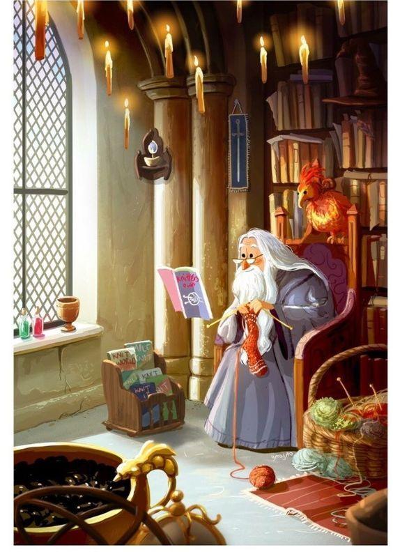 Albus Dumbledore ( Artwork by: yaoyaoartblog.tumblr.com )