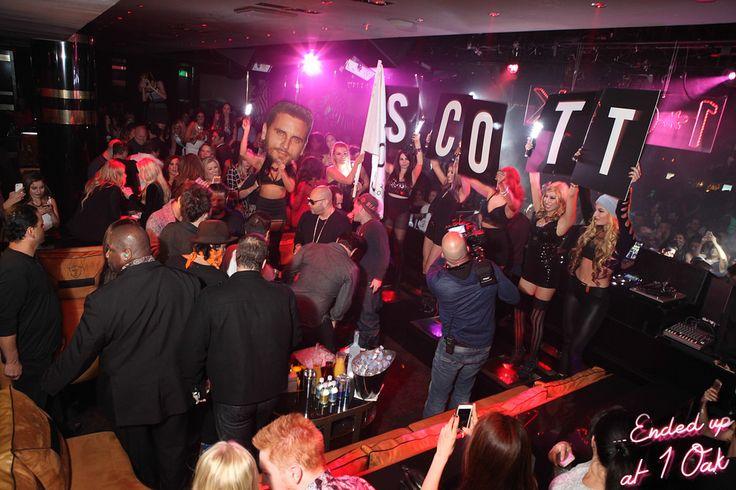 1 OAK Nightclub - Interesting seating; elevated VIP area with DJ facing dance floor/crowd