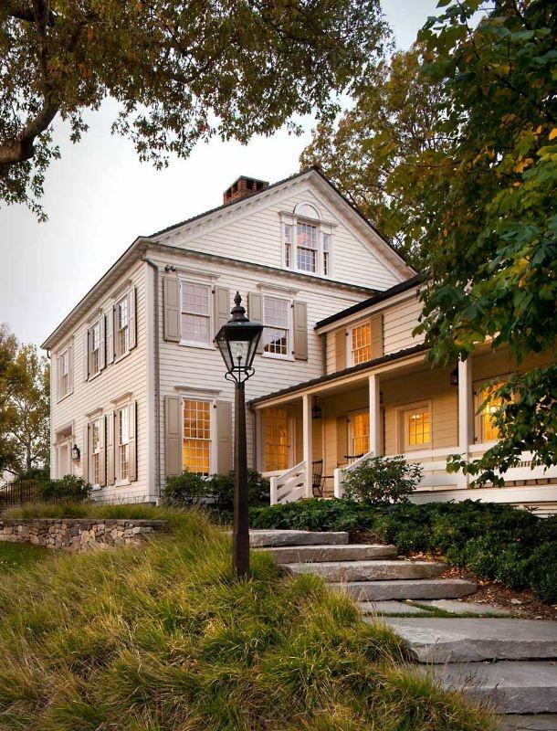 18th century New England farmhouse restoration; John B Murray