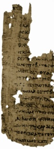 Early 3rd century copy of Epistle to the Romans from Papyrus 27