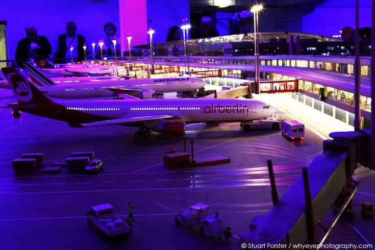 The small city of Knuffingen has its own international airport and well over a million people visited last year but isn't on any map of Germany. It lies in within Miniatur Wunderland, the world's largest model railway exhibition, which you'll find in Hamburg.