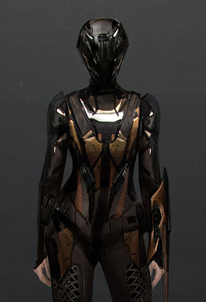 Costume design for film by robotpencil mech suit for Sci fi decor