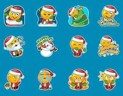 "Check out new work on my @Behance portfolio: ""Christmas Emoji"" http://be.net/gallery/46477761/Christmas-Emoji"