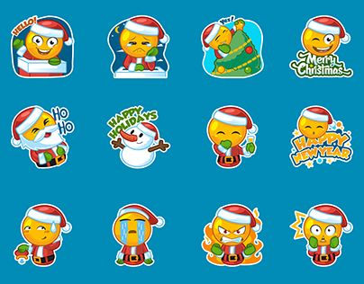 "Check out new work on my @Behance portfolio: ""Christmas Emoji"" http://be.net/gallery/46477761/Christmas-Emoji"