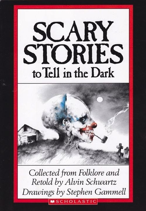 Scary Stories to Tell in the Dark. These books were sooooo scary back then
